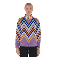 Chevron Wave Color Rainbow Triangle Waves Grey Winterwear