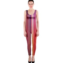 Texture Lines Vertical Lines Onepiece Catsuit by Simbadda
