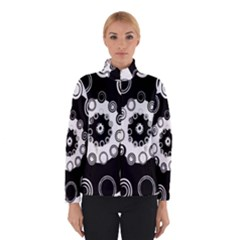 Fluctuation Hole Black White Circle Winterwear