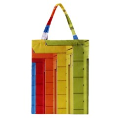 Abstract Minimalism Architecture Classic Tote Bag by Simbadda