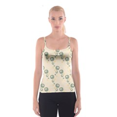 Flower Floral Pink Spaghetti Strap Top