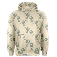 Flower Floral Pink Men s Zipper Hoodie