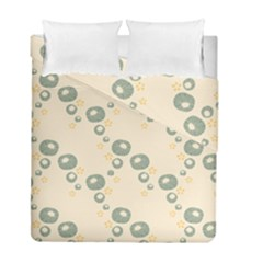 Flower Floral Pink Duvet Cover Double Side (full/ Double Size)