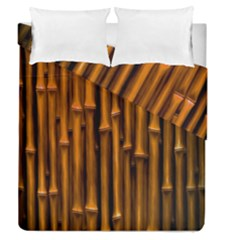 Abstract Bamboo Duvet Cover Double Side (queen Size) by Simbadda