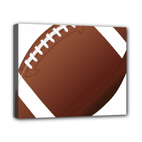 Football American Sport Ball Canvas 10  X 8