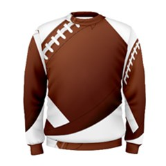 Football American Sport Ball Men s Sweatshirt