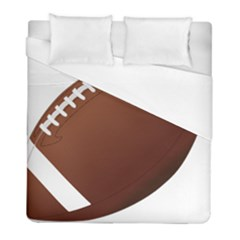 Football American Sport Ball Duvet Cover (full/ Double Size) by Alisyart