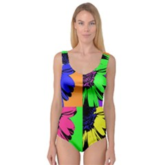 Flower Pop Sunflower Princess Tank Leotard