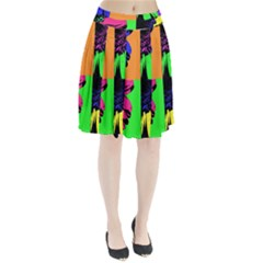 Flower Pop Sunflower Pleated Skirt by Alisyart