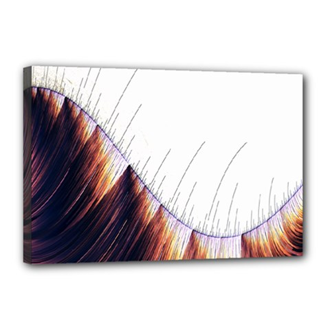 Abstract Lines Canvas 18  X 12  by Simbadda