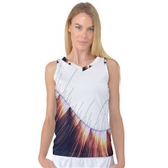 Abstract Lines Women s Basketball Tank Top