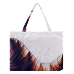 Abstract Lines Medium Tote Bag