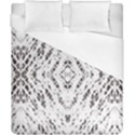 Pattern Monochrome Terrazzo Duvet Cover (California King Size) View1