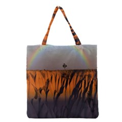 Rainbows Landscape Nature Grocery Tote Bag