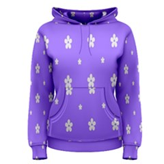 Light Purple Flowers Background Images Women s Pullover Hoodie