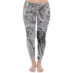 Earth Landscape Aerial View Nature Classic Winter Leggings