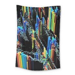 Abstract 3d Blender Colorful Small Tapestry