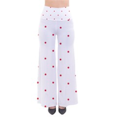 Mages Pinterest White Red Polka Dots Crafting Circle Pants by Alisyart