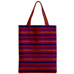 Lines Zipper Classic Tote Bag by Valentinaart