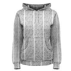 Methods Compositions Detection Of Microorganisms Cells Women s Pullover Hoodie