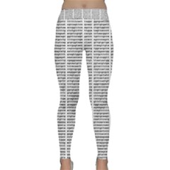 Methods Compositions Detection Of Microorganisms Cells Classic Yoga Leggings