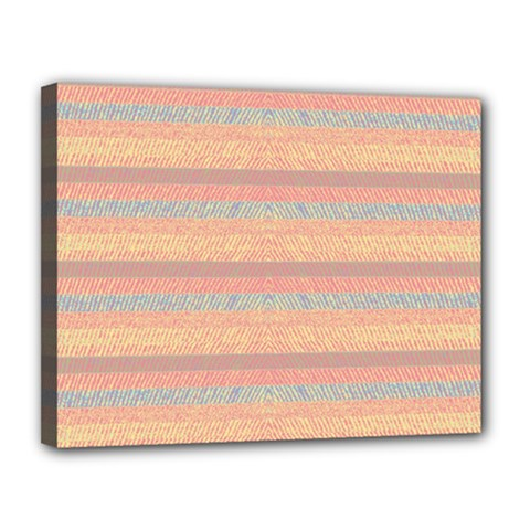 Lines Canvas 14  X 11  by Valentinaart