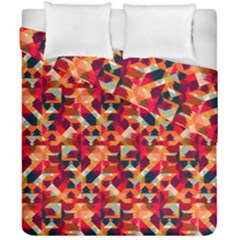 Modern Graphic Duvet Cover Double Side (california King Size) by Alisyart