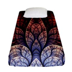 Abstract Fractal Fitted Sheet (single Size) by Simbadda