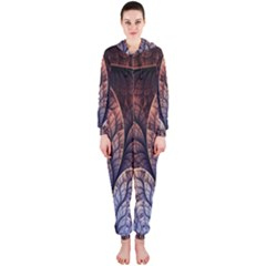 Abstract Fractal Hooded Jumpsuit (ladies)