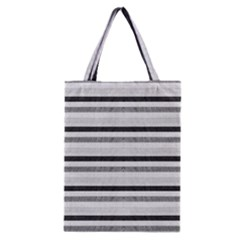 Lines Classic Tote Bag by Valentinaart
