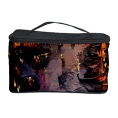 River Venice Gondolas Italy Artwork Painting Cosmetic Storage Case