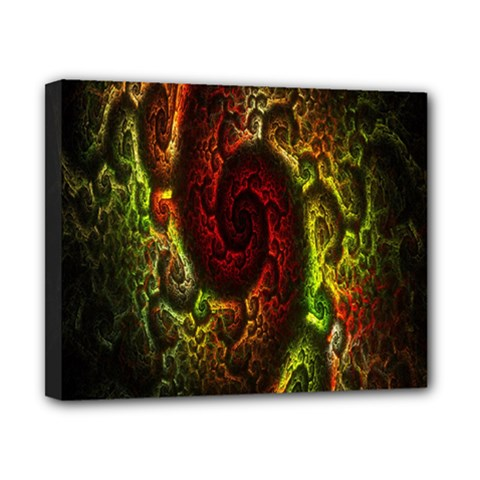 Fractal Digital Art Canvas 10  X 8  by Simbadda
