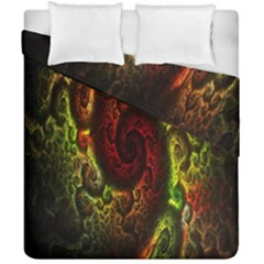Fractal Digital Art Duvet Cover Double Side (california King Size) by Simbadda