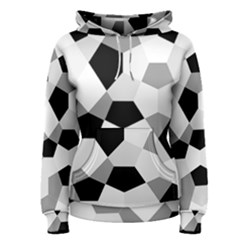 Pentagons Decagram Plain Triangle Women s Pullover Hoodie