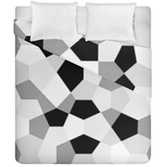 Pentagons Decagram Plain Triangle Duvet Cover Double Side (california King Size) by Alisyart