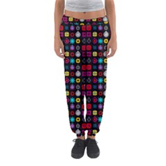 N Pattern Holiday Gift Star Snow Women s Jogger Sweatpants