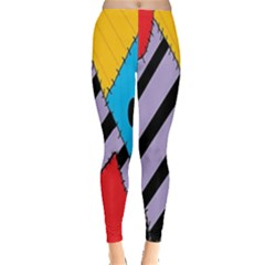 Sally s Patchwork Pattern Leggings