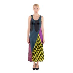 Sally Skellington Fabric Sleeveless Maxi Dress