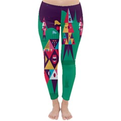 Studio Crafts Unique Visual  Projects Classic Winter Leggings