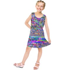 Plasma Gradient Phalanx Kids  Tunic Dress