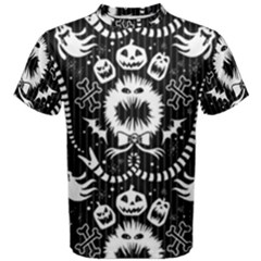 Wrapping Paper Nightmare Monster Sinister Helloween Ghost Men s Cotton Tee
