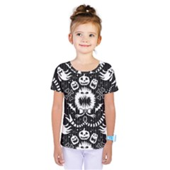 Wrapping Paper Nightmare Monster Sinister Helloween Ghost Kids  One Piece Tee