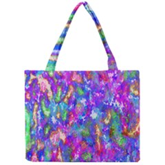 Abstract Trippy Bright Sky Space Mini Tote Bag by Simbadda