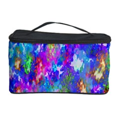 Abstract Trippy Bright Sky Space Cosmetic Storage Case by Simbadda