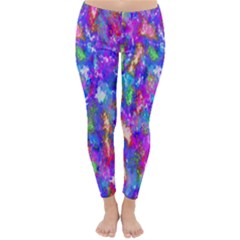 Abstract Trippy Bright Sky Space Classic Winter Leggings