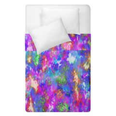 Abstract Trippy Bright Sky Space Duvet Cover Double Side (single Size) by Simbadda