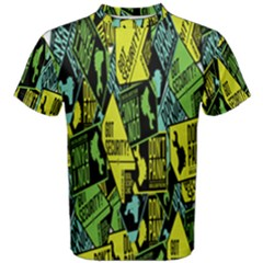 Don t Panic Digital Security Helpline Access Men s Cotton Tee by Alisyart