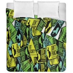 Don t Panic Digital Security Helpline Access Duvet Cover Double Side (california King Size)