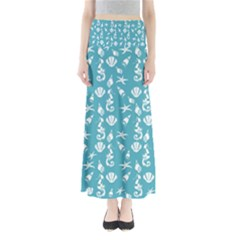 Seahorse Pattern Maxi Skirts by Valentinaart