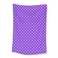 Polka Dots Small Tapestry by Valentinaart
